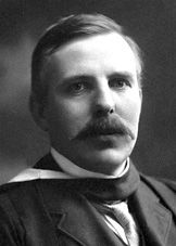 """Ernest Rutherford - Nobel Prize in Chemistry 1908 """"for his investigations into the disintegraton of the elements, and the chemistry of radioactive substances"""""""
