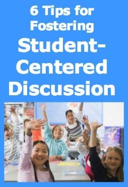 Getting started with student-centered discussion in the classroom: six tips from WeAreTeachers and The Great Books Foundation.