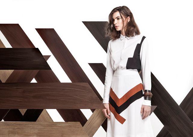 Jardin tem verão 2016 inspirado na cultura asteca e no geometrismo Veja cliques exclusivos da campanha .