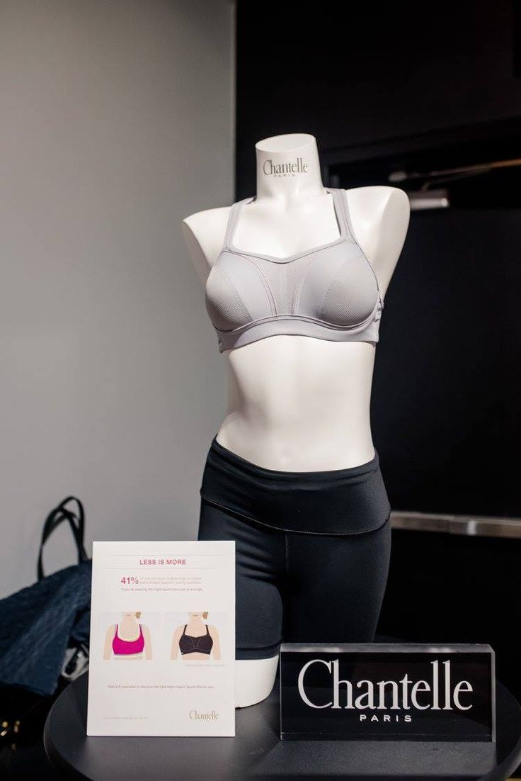The Chantelle High-Impact #SportsBra is put to the test with a high intensity class at TITLE #Boxing Club NYC.
