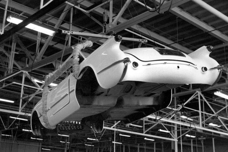 The first Corvette in Flint Michigan.