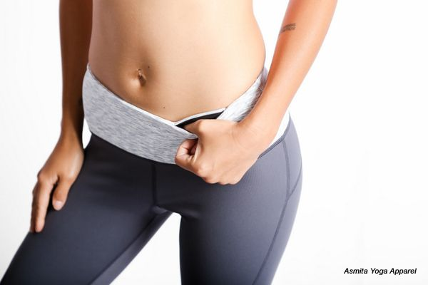PRANA CAPRIS - There's two hidden key/card pocket in waistband.