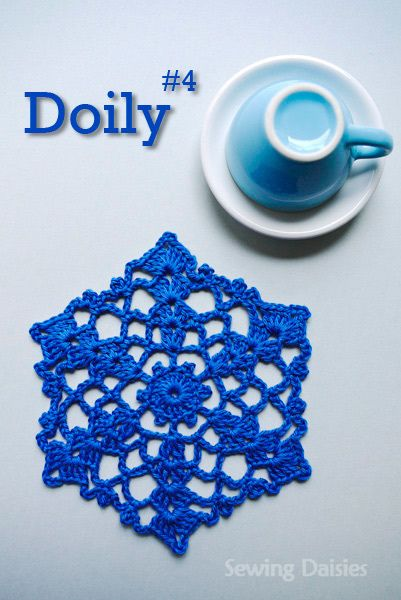 Doily & Mat Series: Doily #4 by Sewing Daisies, via Flickr