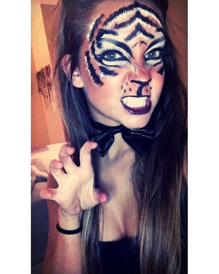 Tiger makeup                                                                                                                                                                                 More