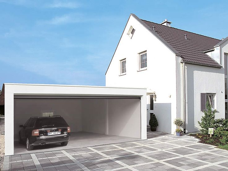 38 best Garage beton images on Pinterest Architecture, Carport - Combien Coute Une Extension De Maison