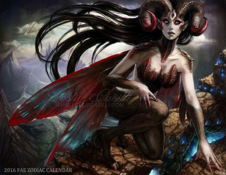 Aries - 2016 Fae Zodiac Calendar by Enchantress-LeLe on DeviantArt