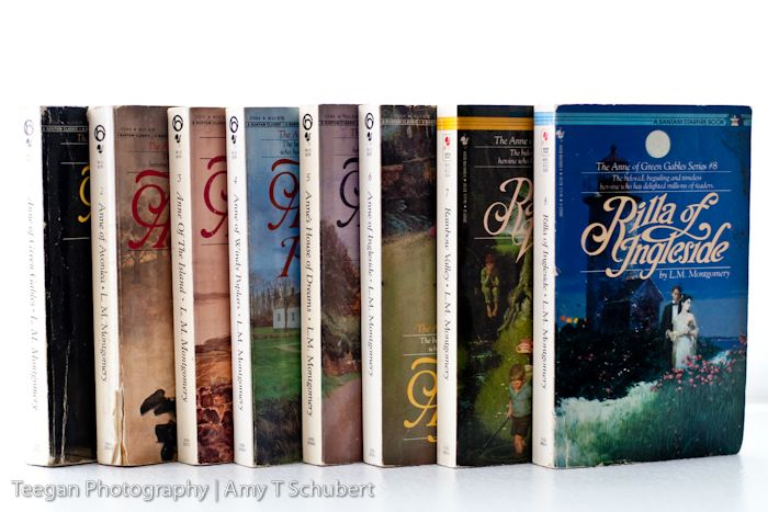 Anne of Green Gables series, LM Montgomery