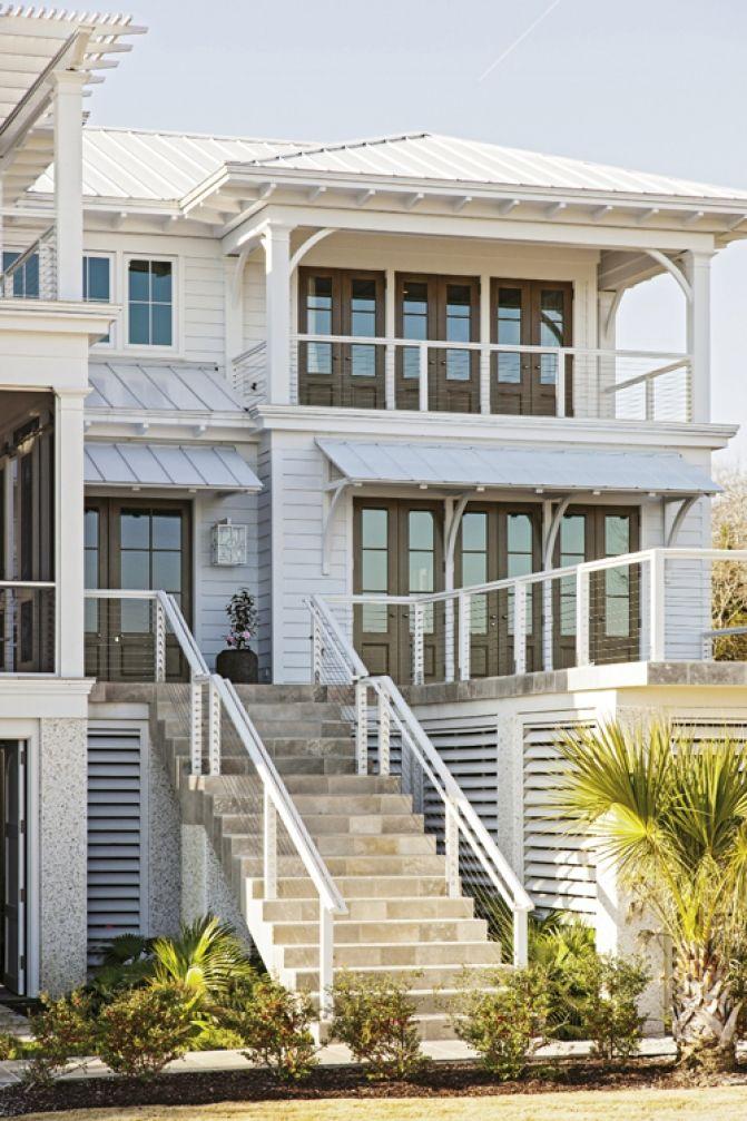 Daniel Island beach house - Oliver Dungo, architect/builder - Charleston Magazine