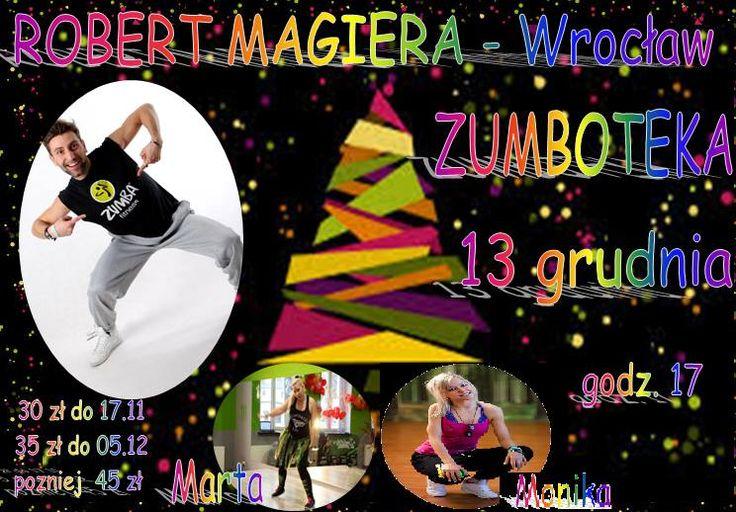 Robert Magiera w Zumbotece (Bydgoszcz, 13.12.2014)