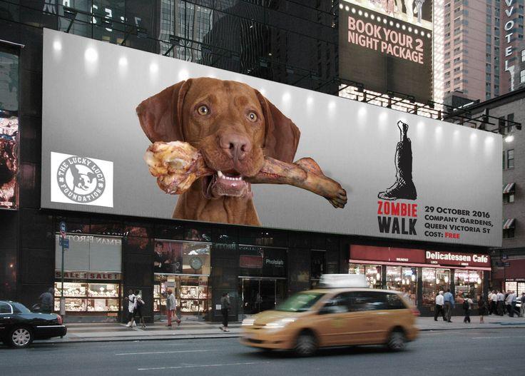 Cape Town Zombie Walk 2016 Billboard concept