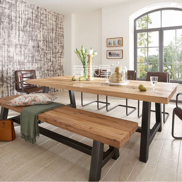 Taobao dining table for Mesas industriales