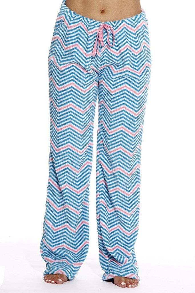 f72a9760703d Just Love Women s Plush Pajama Pants - Chevron