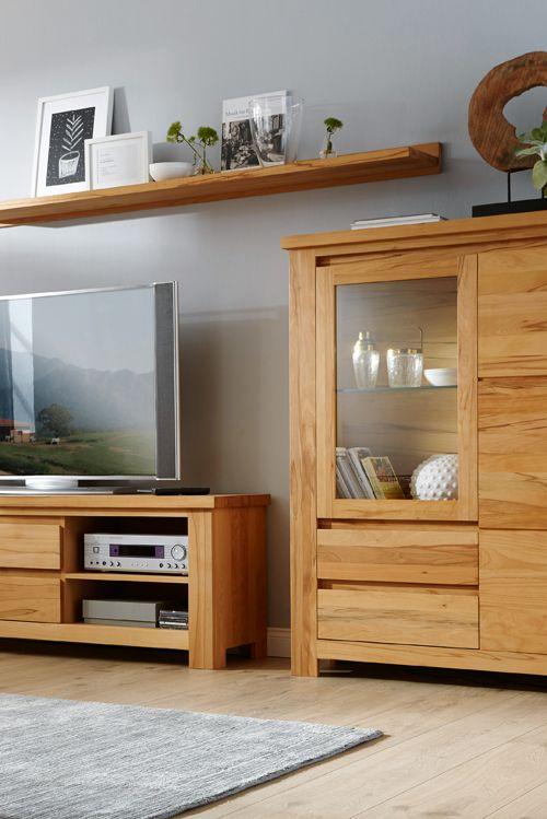 Die besten 25+ Highboard massivholz Ideen auf Pinterest - wohnzimmerschrank buche massiv