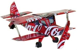 Mini Can Bi-Plane made from recycled Coke cans. www.hatchecolifestyle.com