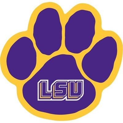 126 best lsu and saints logos images on pinterest lsu tigers rh pinterest com lsu clipart black and white lsu clipart free