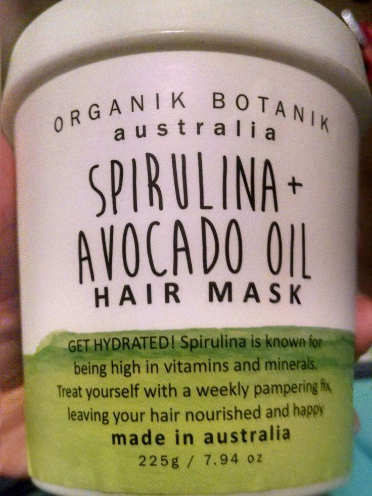 Organik Botanik Australia Hair Mask Skin care routine