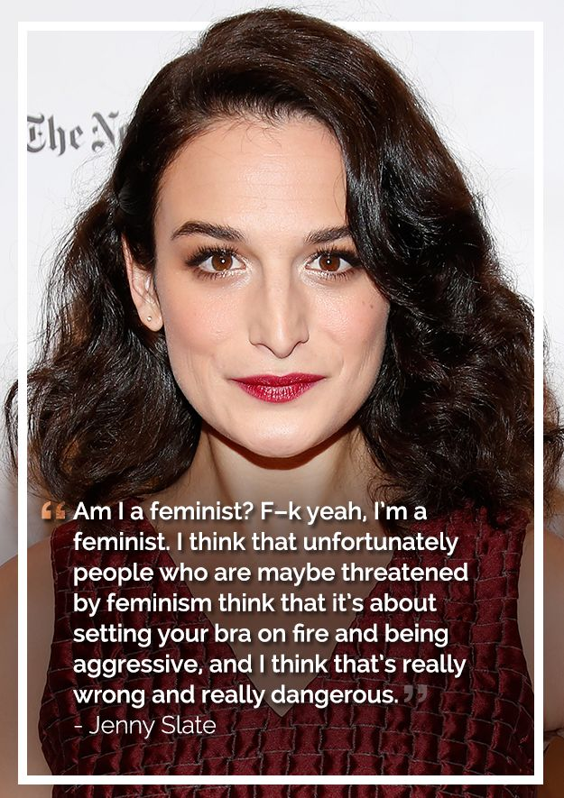 Jenny Slate | The Most Badass, Inspiring Celebrity Quotes About Feminism In 2014