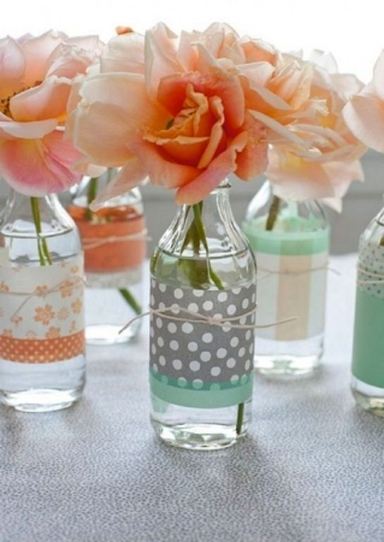 wedding_trend_washi_tape_centrepieces  http://mychiclife.com/2013/09/13/17980/