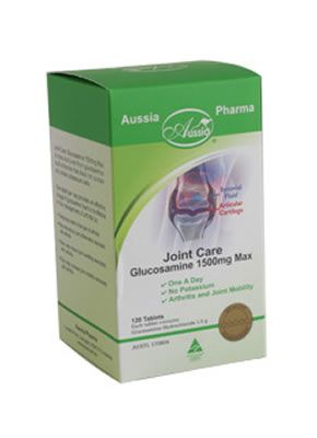 Joint Care Glucosamine 1500mg Glucosamine is formed in the body from glucose and the amino acid glutamine, and is a key part of the structure of cartilage, which is essential for proper joint function.  http://www.purenaturalhealth.com.au/products.php?psid=209&gtitle=bone-and-joint-care