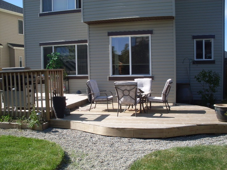 Deck we built in 2010