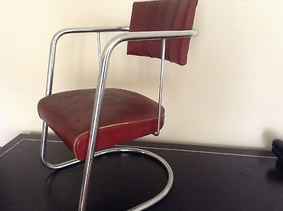 Art Deco / Machine Age Chrome Chair By Gilbert Rohde For Troy / With Label  · Steel FurnitureMachine AgeGilbert Ou0027sullivanBauhausFolding ...