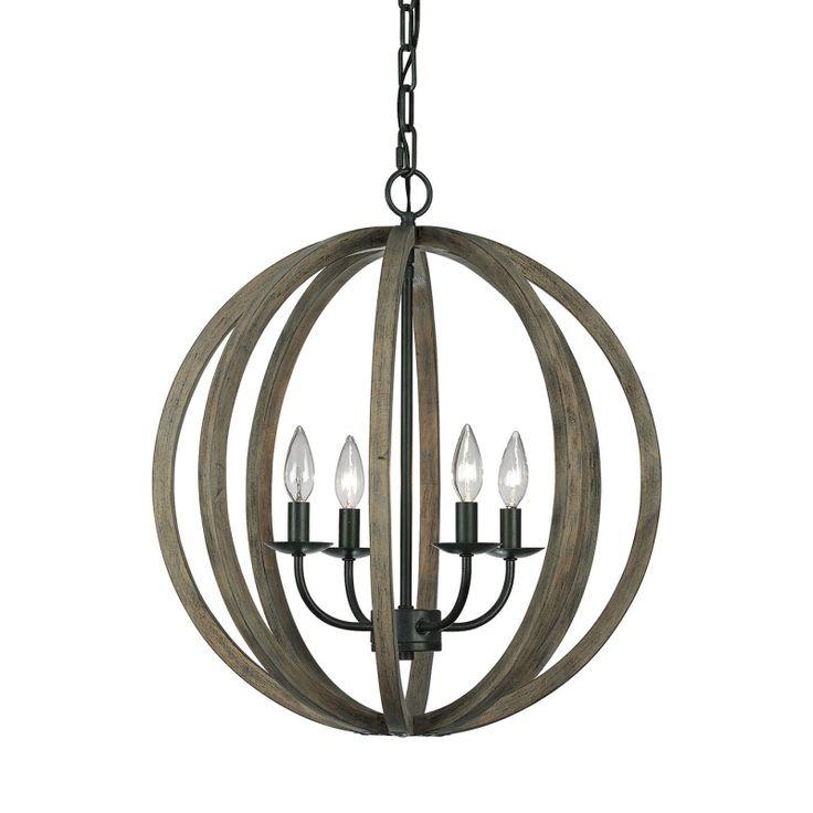 Allier Four Light Pendant - Elstead Lighting - Netlighting Ltd