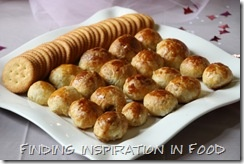 Bite size baked brie and baby shower ideas