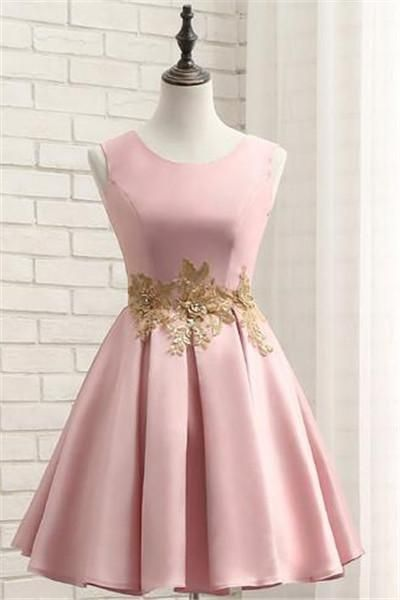 Short Prom Dress, #appliques  #homecoming  #dresses  #homecoming #homecomingdresses #CocktailDress #short #shortdress #shortpromdress #prom #promdress #party #partydress #gown #fashion #fashionstyle #bridalgown