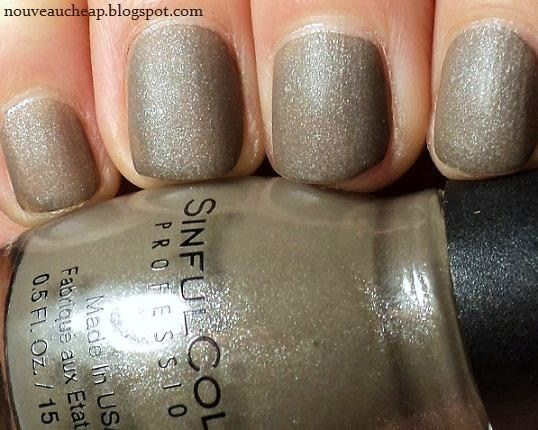 Sinful Colors Taupe It Off