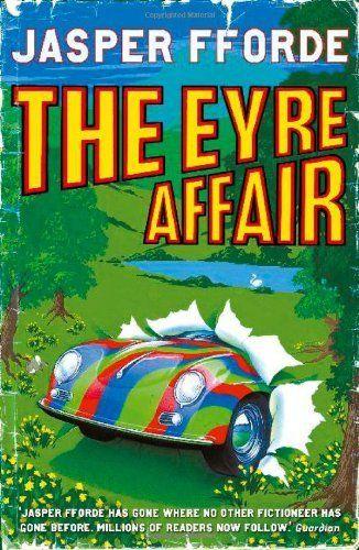 Excellent series of books! The Eyre Affair (Thursday Next) by Jasper Fforde, http://www.amazon.co.uk/dp/034073356X/ref=cm_sw_r_pi_dp_4uy5qb0M9S360
