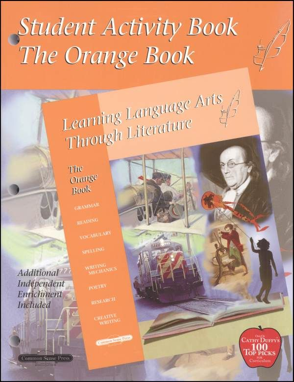Learning Language Arts Through Literature Orange Student Book