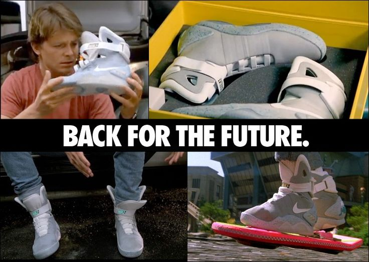80's Nike Sneakers Back For The Future