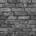 FINE DECOR LUXURY 10M EFFECTS WALLPAPER – STONE BRICK WOOD SLATE NEW