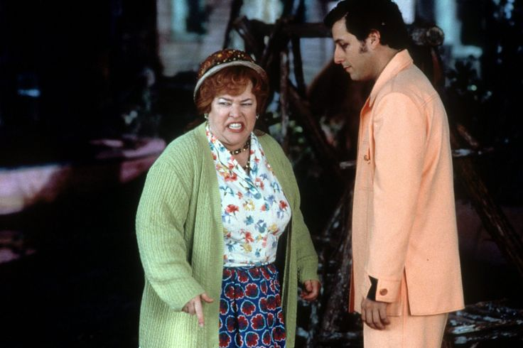 Kathy bates and adam sandler in the waterboy 1998