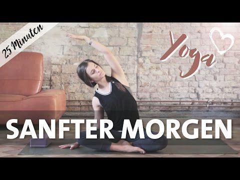Yoga Anfänger   Sanfter Morgen   Ruhig, Achtsam & Meditativ - YouTube