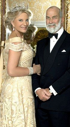 Prince and Princess Michael of Kent - official 30th wedding anniversary photos in 2008