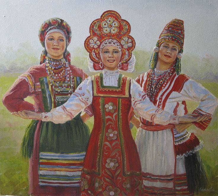 mysliwiec - Сарафан и кокошник