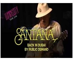 Santana Concert Tickets for Sale in Dubai