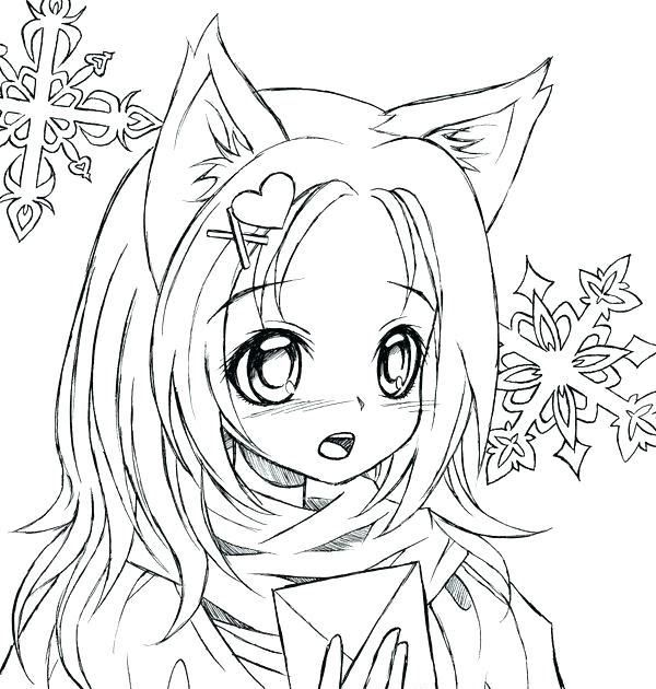 Cute Girl Anime Coloring Pages Free Printable New Clip Arts Chibi Coloring Pages Cat Anime Gi In 2020 Chibi Coloring Pages Cat Coloring Page Coloring Pages For Girls
