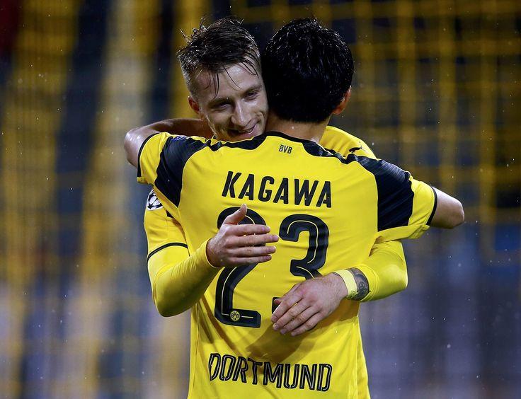 Kagawa, moleque! Graças a Reus! Borussia bate recordes de gols #globoesporte