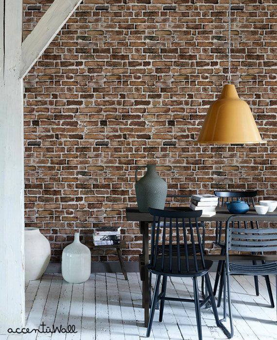 Die besten 25+ weiße Ziegel Tapete Ideen auf Pinterest Tapete - graue tapete wohnzimmerwohnzimmer fliesen beige matt