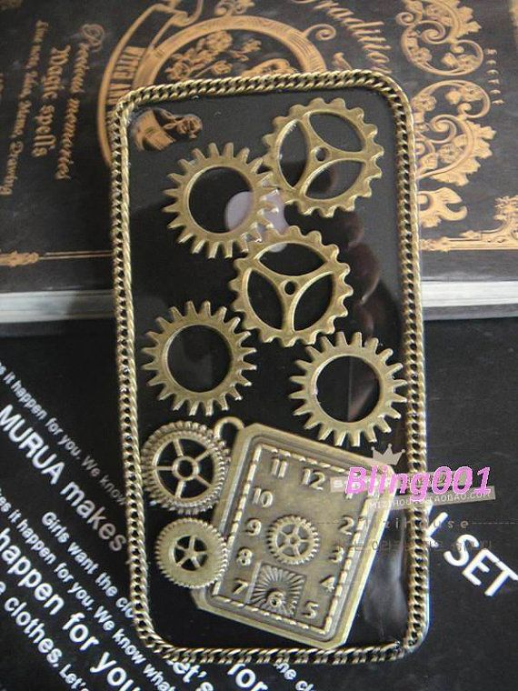 steampunk+iPhone+4+case+iPhone+5+case+iPhone+5+cover+by+Bling001,+$16.89