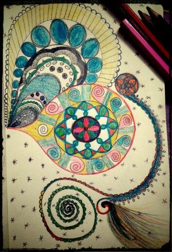 Inspired by mandalas
