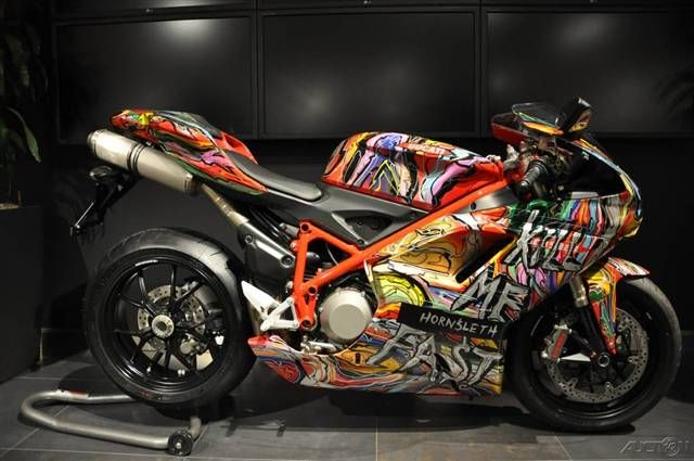 ducati hypermotard ☆ wheelie stunt rider motorcycle bike riding
