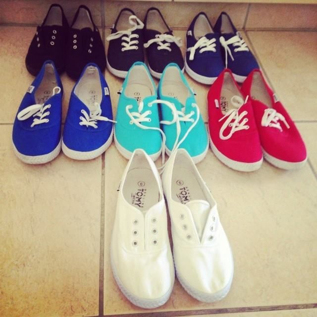 Rad collection of Tomy Takkies