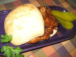 BBQ Pulled Pork Sandwiches - Sloooow Cooked in Your Crock Pot