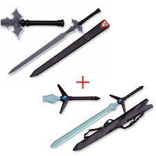 "Sword Art Online SAO Kirito ALO 45"" 1st + 2nd Long Sword COMBO Halloween Xmas"