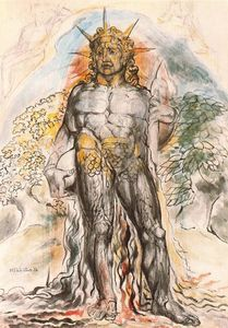 The course of human history personified - (William Blake)