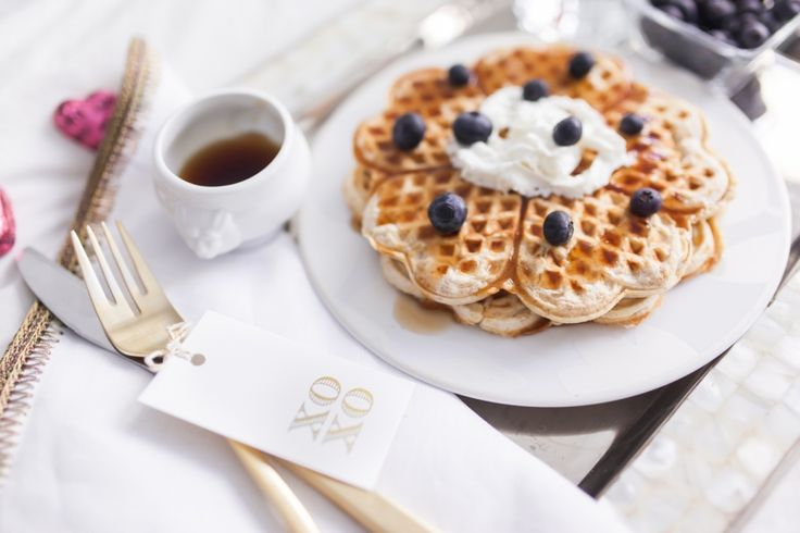 His & Hers Breakfast in Bed for Valentine's Day - Fashionable Hostess | Fashionable Hostess