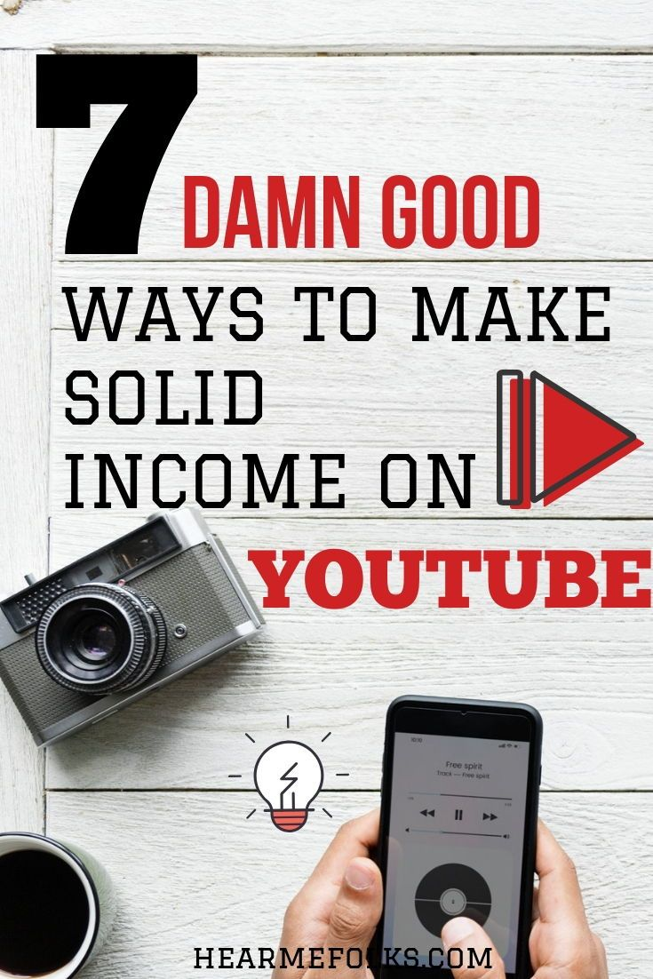 7 Proven Ways You Can Earn Money from YouTube Videos – AAM